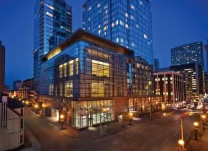 Four Seasons Hotel Toronto by night