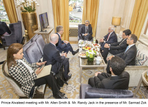Prince Alwaleed meeting with Mr. Smith & Mr. Rndy Jack in the presence of Mr. Zok, May 2016 E